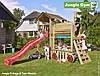 Детский игровой модуль Jungle Gym Train Module