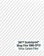 Пленка под карбон 3М Scotchprint 1080 Белая