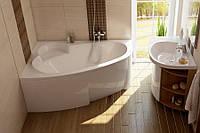 Акриловая ванна Ravak ASYMMETRIC 150 x 100