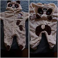 Нарядный костюм-комбинезон для малыша в расцветке