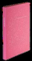 Папка пластиковая c 20 файлами А4 BAROCCO, розовый
