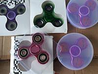 Спінер кольорові фиджет-спиннер вертушка крутилка для рук колір метал