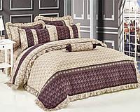 Комплект постельного белья семейный, поплин 100% хлопок. Постільна білизна. (арт.7786)