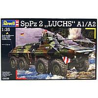 Revell  4-й уровень.Бронетранспортер (1975г.,Германия) SpPz 2 Luchs A1/A2;1:35 (3036)