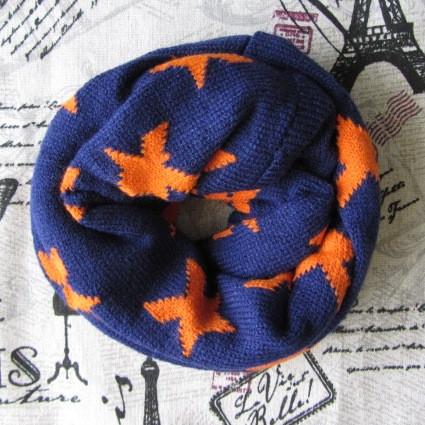Дитячий в'язаний шарф - кільце