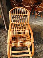 Плетене крісло гойдалка дитяче