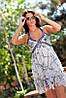 Платье шифон камни дг900