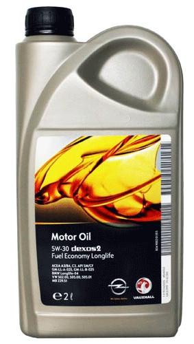 Синтетическое моторное масло GM  5w-30 2л