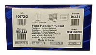 Пластиковый соединитель T-End  7mm/100 деликатный  (10000 шт)