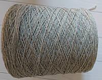 Меринос  с кашемиром Filati Art Doroty 90% меринос, 10% кашемир 500 м Серый меланж, фото 1