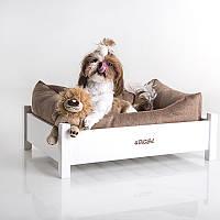 Dog Monte White - Монте (деревянная кроватка для собак)
