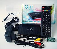 Спутниковый HD ресивер Q-SAT Q-11 Прошит +MEGAGO +YOUTUBE