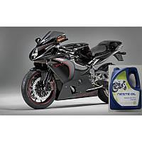 Масло моторное синтетическое для мотоциклов API SN NESTE MC Pro 10W-40 (4 л)