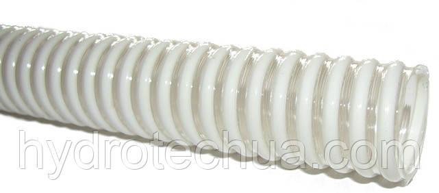 ПВХ рукав 25 мм напорно-всасывающий Plexiflex пищевой