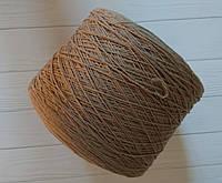 Меринос  с кашемиром Filati Art Doroty 90% меринос, 10% кашемир 500 м Кофейно серый, фото 1