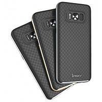 Чехол для телефона iPaky TPU + PC Samsung G950F Galaxy S8 (Черный / Золотой)