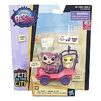 Littlest Pet Shop City Rides Литл Пет Шоп маленький Зоомагазин  путешествие по городу