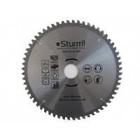 9020-210-30-60TA Диск пильный 210х30 мм 60 зубов ламинат/алюминий/пластик