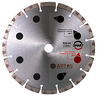 Круг алмазный ADTnS Smart RM-W для армобетона 1A1RSS/C3-H 180x2,6/1,8x8x22,23-14 CHH 180/22,23 RM-W