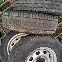 Резина УАЗ Хантер 235/70 R 16 , 105 Т (б/у) 4 колеса
