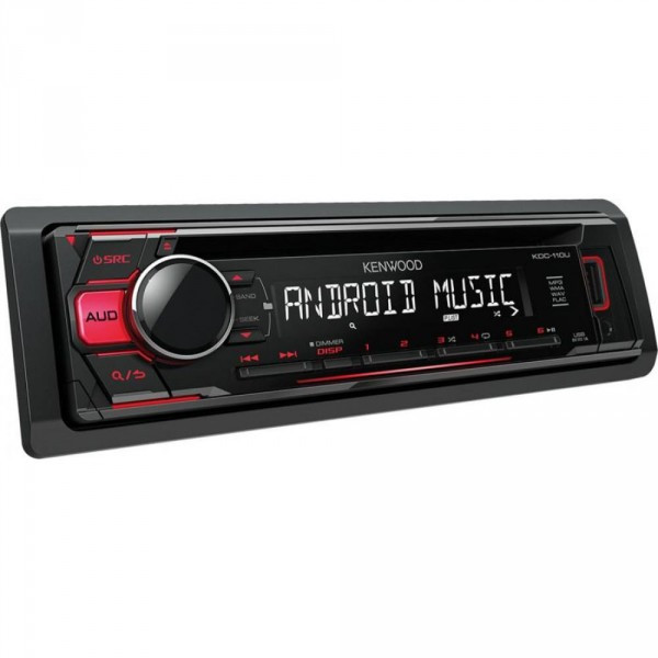 CD/MP3-ресивер Kenwood KDC-110UR