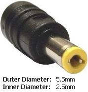 Оригинальный DC кабель питания для БП ASUS 90W 5.5x2.5мм