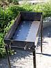 Стальная решетка для мангала 600х300х135 мм, фото 3