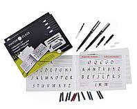Набор для каллиграфии, Masterclass Set (2 ручки, 4 пера, 12 картриджей, конвертер), Manuscript