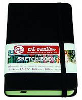 Блокнот для графики Royal Talens Art Creation черный А6 (9х14см) 140 г/м2 80 листов (8712079383497)