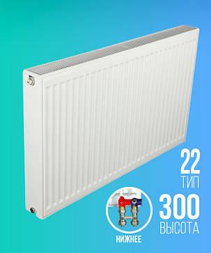 Радиатор ТИП 22 РККР E.C.A. 300×1200 НП, фото 2