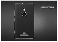 Чехол накладка бампер для Nokia Lumia 925 черный