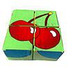 """Кубики мягкие """"Фрукты"""" 4 шт., фото 5"""