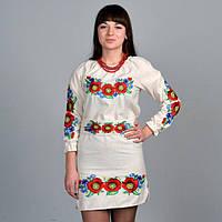 Вышитое женское платье Соломия, фото 1