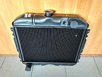 Радиатор охлаждения медный ГАЗ 2410, РАФ (2-х рядный), фото 1