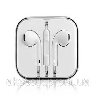 Стерео-наушники Apple EarPods iPhone 5 5s SE B quality  продажа ... 48552b454d3ff