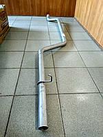 Труба выхлопная длинная Газель 2705, 3221 (цельнометаллический кузов)