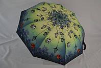 Очаровательный женский зонт от дождя полуавтомат анти-ветер лаке по низкой цене