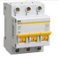 Автоматический выключатель ВА47-29 3Р (6; 10; 16; 20; 25А)
