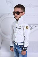 """Рубашка """"Ferrari"""" для мальчика,100% хлопок, высокое качество пошива"""