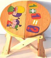 1702 деревянный стульчик