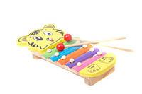 Деревянная музыкальная игра Ксилофон 0311 в коробке
