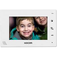 Цветной домофон Kocom KCV-A374 (black/white)