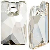 3500 Pendular Lochrose 12,5x7 mm, Crystal Silver Shade (001 SSHA)