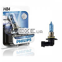 Лампа галогенная Philips HB4 Diamond Vision, 5000K, 1шт/ блистер (9006DVB1)