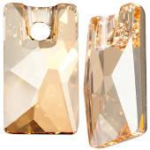 3500 Pendular Lochrose 9x5,5 mm, Crystal Golden Shadow (001 GSHA)
