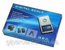 Весы ювелирные карманные DS-New-300 до 300 г, точность 0,01 г