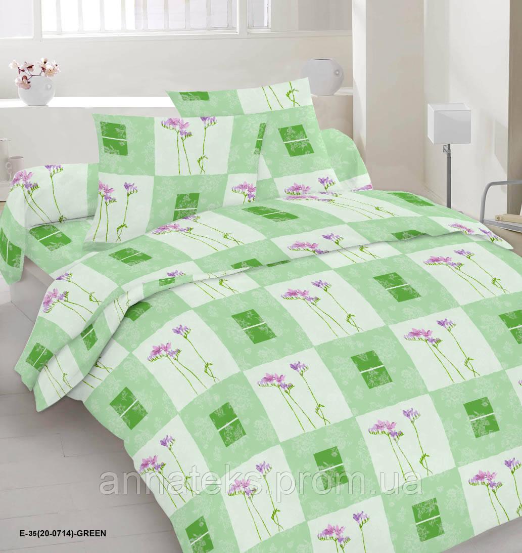 Ткань постельная 142633 Бязь (ПАК) НАБ.ГОЛД DW 20-0714 GREEN 220СМ