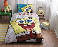 Подростковое постельное белье Spong Bob Happy DISNEY от TAC двустороннее