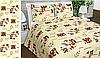 Ткань постельная 142636 Бязь (ПАК) НАБ.ГОЛД DW 20-0613 BEIGE 220СМ