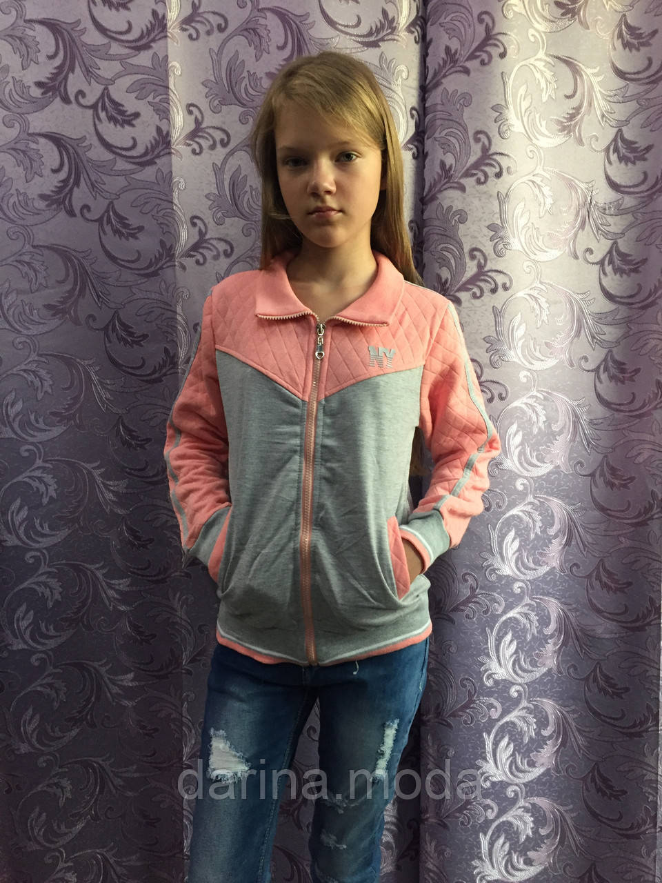 Комбинированная пайта для девочки подростка 164 см